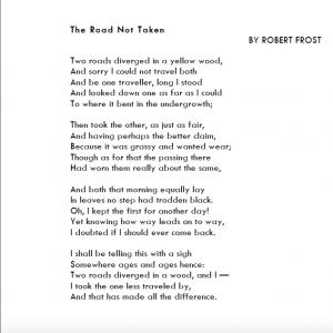 the road not talen frost hof