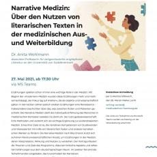 Narrative Medizin – Über den Nutzen von literarischen Texten